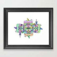 in yo' mind Framed Art Print