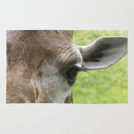 The Eye of a Giraffe Rug
