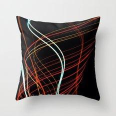 Spiralling Throw Pillow