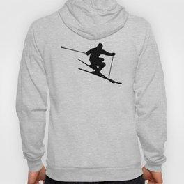 Skiing Silhouette Hoody