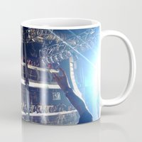 deadmau5 Mugs featuring Deadmau5 - Terminal 5 NYC by detopics