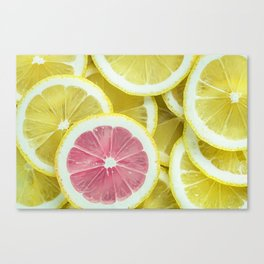 When Life Give You Lemons Canvas Print