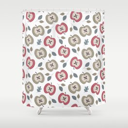 Apples fall Shower Curtain