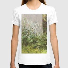 "Ivan Shishkin ""Flowers at the fence"" T-shirt"
