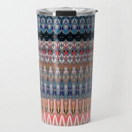 Contemporary Tribal Micropattern Travel Mug