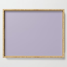 PPG Glidden Trending Colors of 2019 Wild Lilac Pastel Purple PPG1175-4 Solid Color Serving Tray