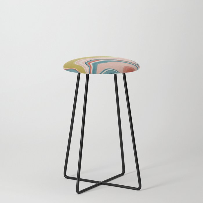 Marble 6 Counter Stool