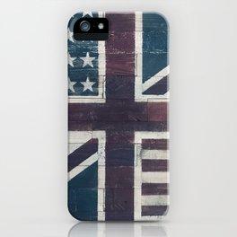 United British - American iPhone Case