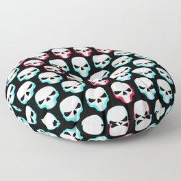 Skullomanic Floor Pillow