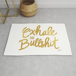 Exhale the Bullshit  Rug