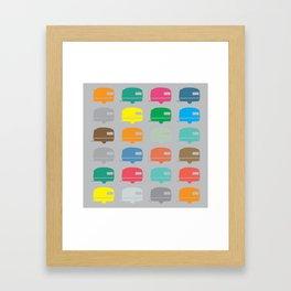 Caravans Framed Art Print