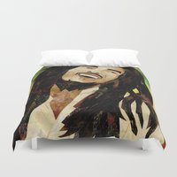 marley Duvet Covers featuring Marley Collage by Emily Harris