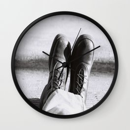 my boots Wall Clock