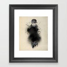 Style outside, man inside Framed Art Print