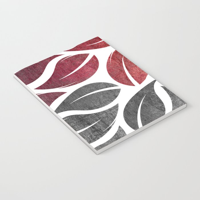 falling leaves IX Notebook