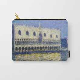 The Palazzo Ducale by Claude Monet Carry-All Pouch