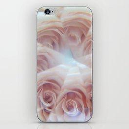 crystal rose iPhone Skin