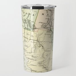 Vintage Map of the South West Of The United States Travel Mug