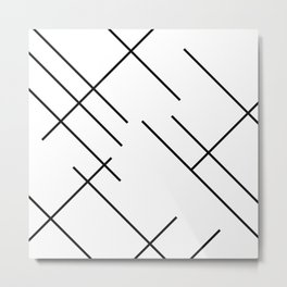Abstract Hipster Lines Background #society6 #decor #buyart #artprint Metal Print