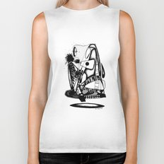What you hold - Emilie Record Biker Tank