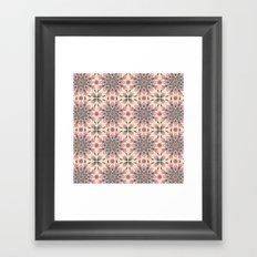 Midsummer Mandala Framed Art Print