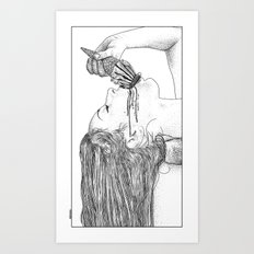 asc 669 - L'esagerata (My name is Excess) Art Print