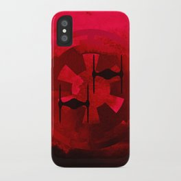 Star Wars Imperial Red Tie Fighters iPhone Case