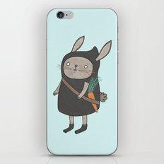 Ninja Bunny iPhone & iPod Skin