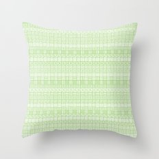 Square Syndrome Throw Pillow
