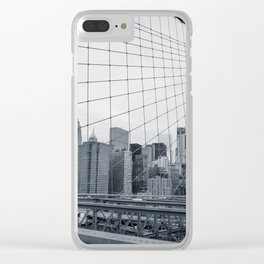 The Bridge And The City Clear iPhone Case