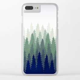 PineGradient 2 Clear iPhone Case
