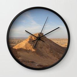 Vertical Desert II Wall Clock