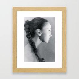 Bunhead Framed Art Print