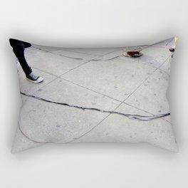 Caught On Tape Rectangular Pillow