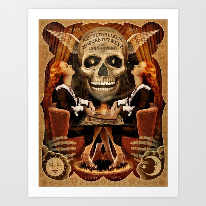 Ouija Twins Art Print