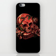 Dark history iPhone & iPod Skin