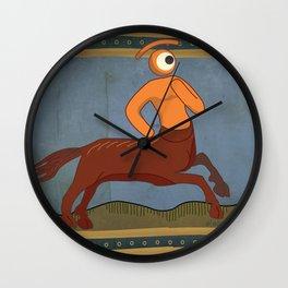 cetaur eye Wall Clock