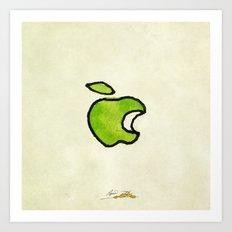 Apple II Art Print