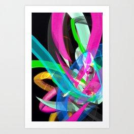 Flow Back Art Print