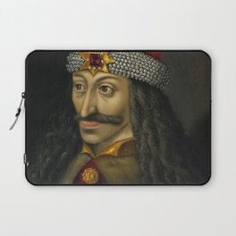 Vlad the Impaler Portrait Laptop Sleeve