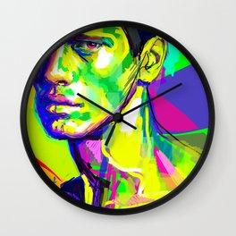Jules Raynal Colors Wall Clock