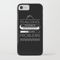 alcohol iPhone & iPod Cases featuring To alcohol! by Sama