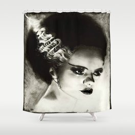 Bride of Frankenstein Shower Curtain