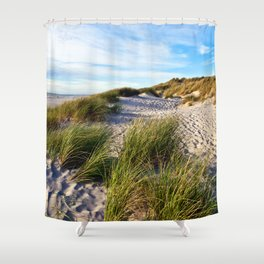 Magic Danish Coast Shower Curtain