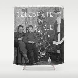 Celebrate in Style Shower Curtain