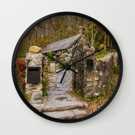 The Ugly House Snowdonia Wall Clock
