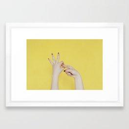 sexyness Framed Art Print