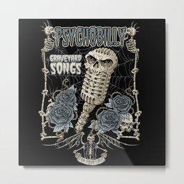 Graveyard Songs Metal Print