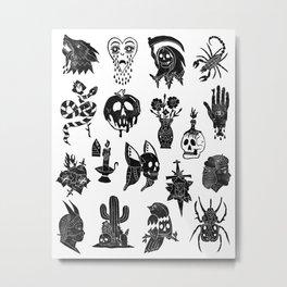 Flash Sheet Metal Print