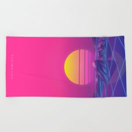 Hollowlove Diamond Mine Beach Towel